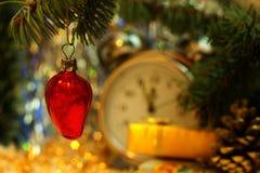 Fraise de Noël Photographie stock