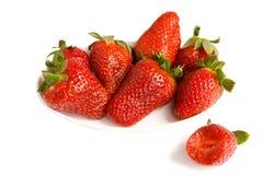 fraise de plaque Image stock