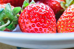 fraise douce Fraise fraîche Strewberry rouge photo libre de droits
