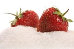 Fraise en sucre photographie stock libre de droits