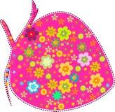 Fraise et fleur Photo stock