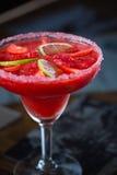 Fraise Margarita Cocktail image libre de droits
