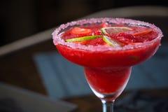 Fraise Margarita Cocktail images stock