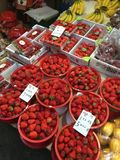 Fraise rouge Photos stock