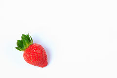 Fraise rouge Photographie stock