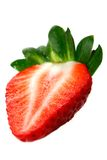 Fraise rouge fraîche Image libre de droits