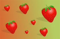 Fraises illustration stock