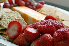 fraises appétissantes Photographie stock libre de droits