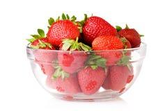 fraises de cuvette Photographie stock libre de droits