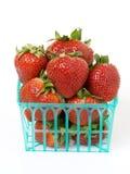 fraises de panier Photo stock