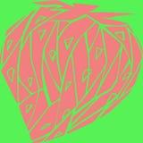 Fraises des polygones illustration de vecteur