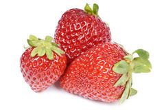 fraises fraîches Photographie stock libre de droits