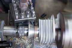 Fraiseuse en métal Images stock