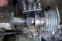 Fraiseuse en métal Photo libre de droits