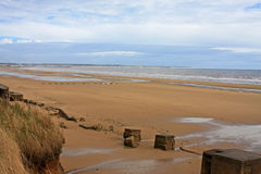 Fraisthorpe Beach, Yorkshire Royalty Free Stock Images