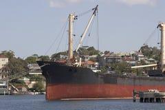 fraktbåt royaltyfri bild