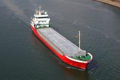 Fraktbåt Fotografering för Bildbyråer