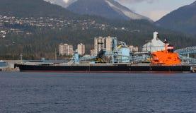 fraktbåt Arkivbild