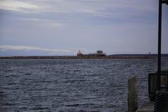 fraktbåt Great Lakes royaltyfri bild