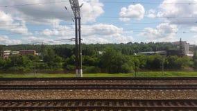 Fraktjärnvägsstation lager videofilmer