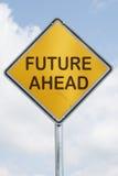framåt framtid Fotografering för Bildbyråer