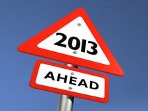 framåt nytt år Arkivbilder