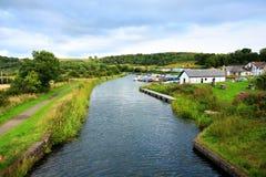 Framåt och Clyde Canal, Skottland Royaltyfri Foto