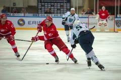 Framåt Vladimir Bobylev (47) Arkivbild