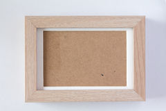 Fram сделало древесину формы Стоковые Изображения RF