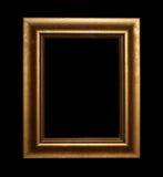Fram d'or avec le chemin Photos libres de droits