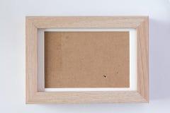 Fram hizo la madera de la forma Imágenes de archivo libres de regalías