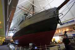 Fram Museum, Oslo, Norway. Nansen Fram's Historic Polar Expedition ship, Fram Museum, Oslo, Norway royalty free stock photos