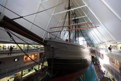Fram Museum, Oslo, Norway. Nansen Fram's Historic Polar Expedition ship, Fram Museum, Oslo, Norway royalty free stock photography