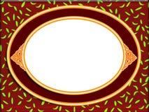 Fram ovale Images libres de droits