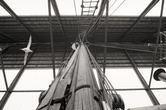 Fram polar expedition Ship detail Stock Images