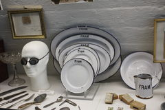 Fram. Ship norway oslo  Museum crockery tableware stock image