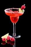 Framboesa Margarita - a maioria de seri popular dos cocktail Imagem de Stock