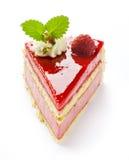 framboise de gâteau Image stock
