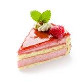 framboise de gâteau Images libres de droits