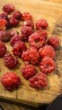 Framboise rouge Photographie stock libre de droits