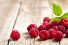 Framboises Photos stock