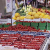 Framboises Photographie stock