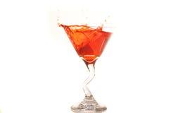 Framboos Martini Stock Afbeelding