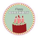 Gelukkige Verjaardag Stock Foto