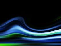 frambragd wave för bakgrund dator Royaltyfri Foto