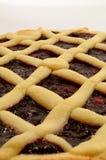 Frambuesa Crostata - tarta italiana Imagenes de archivo