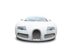 Framdel av den Bugatti Veyron bilen Royaltyfri Foto