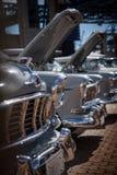 Framdel av den klassiska bilen Royaltyfri Bild