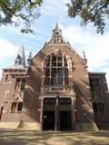 Framdel av den stora kyrkan, Hilversum, Nederländerna arkivfoto