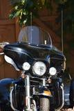 Framdel av motorcykeln Royaltyfria Foton